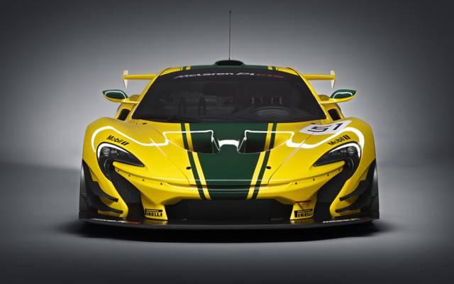 GTR,迈凯轮,2015年,前线,超级跑车,迈凯轮