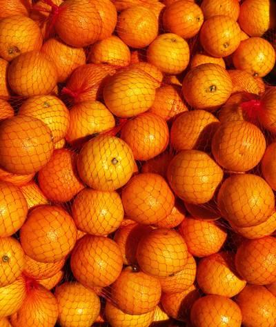 甘甜的橙子