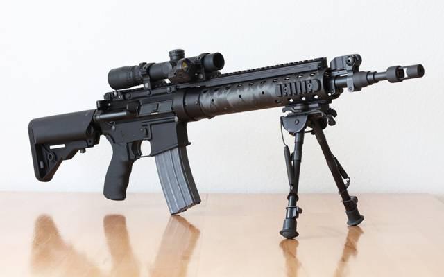 步枪,MK12,SPR