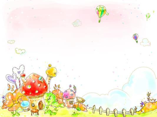 心,灌木,围栏,房子,婴儿壁纸,云,草,凳子,气球