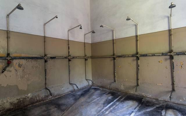 房间,淋浴,监狱