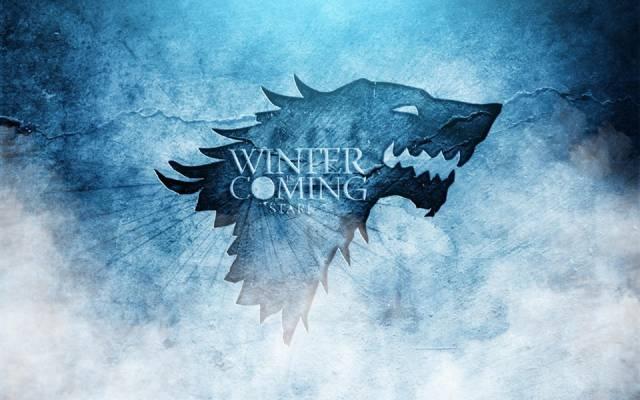 游戏的王座,系列,徽章,冰与火之歌,狼,...