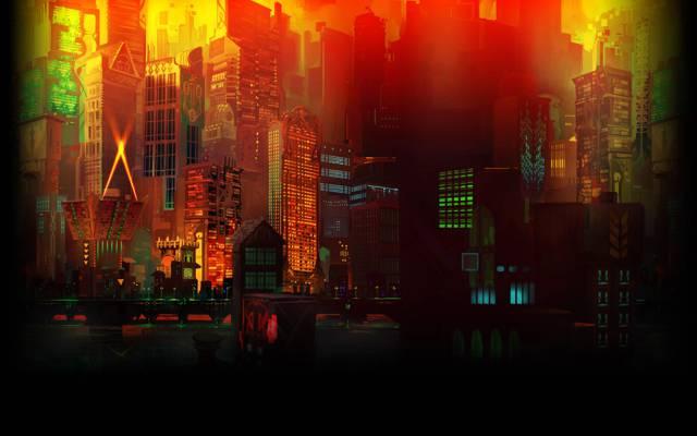 灯,家,晶体管背景Cloudbank,夜晚,街道