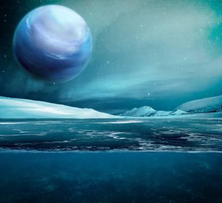 行星海王星高清壁纸的照片