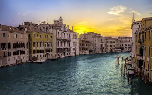 威尼斯,城市,景观