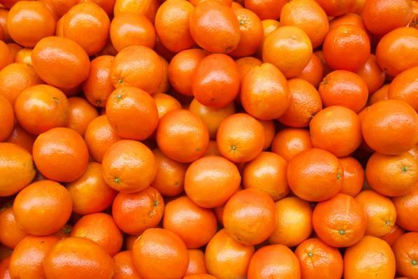 新鲜的橙子