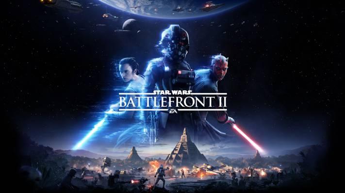 壁纸Thevideogamegallery.com,星球大战:前线II,2017,星球大战,游戏,电子艺界,EA