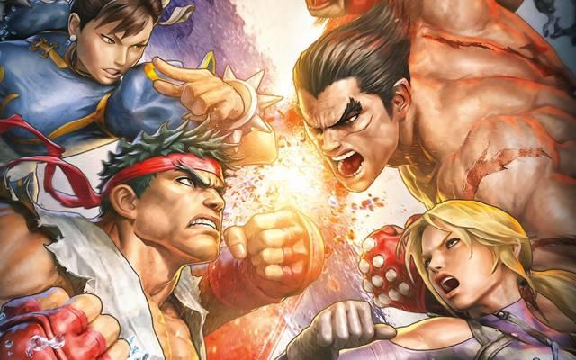 战斗,街头霸王X铁拳,铁拳,三岛和也,街头霸王,春丽,尼娜·威廉斯,春丽,格斗