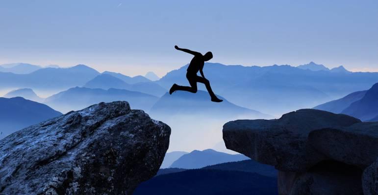 游戏中时光倒流的摄影的人在白天高清壁纸跳悬崖悬崖
