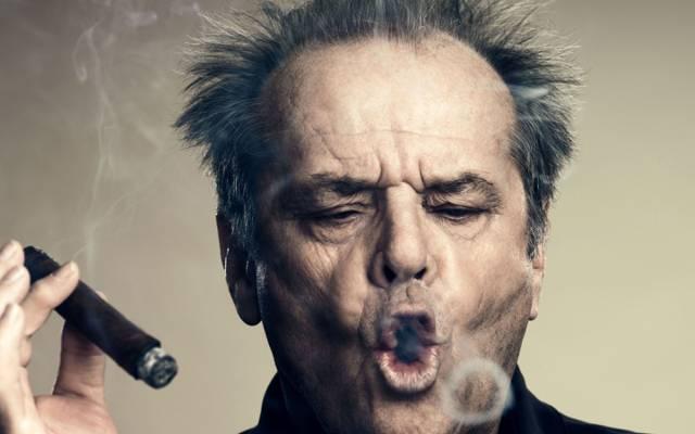演员,烟,杰克尼科尔森,杰克尼科尔森,雪茄