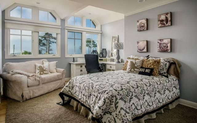 沙发,设计,表,卧室,床,Windows