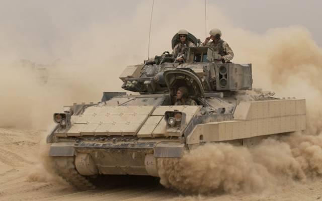 美国的Bradley,M2 Bradley,BMP