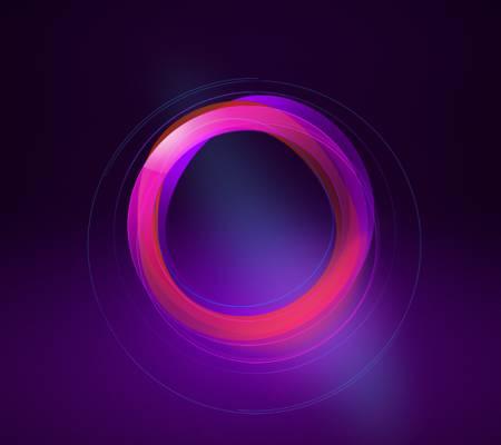 圈子,颜色,抽象,努比亚UI