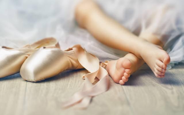 芭蕾舞女演员,芭蕾,孩子