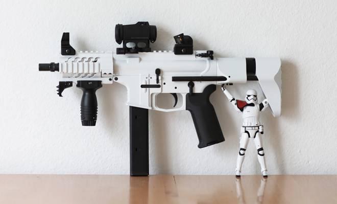 9毫米,武器,冲锋队,AR15