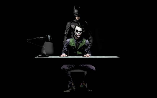 小丑,蝙蝠侠,黑暗骑士,黑暗骑士