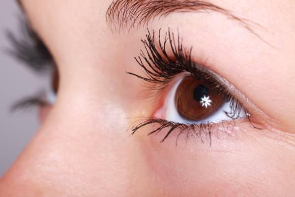 选择性焦点摄影的女人的棕色瞳孔高清壁纸