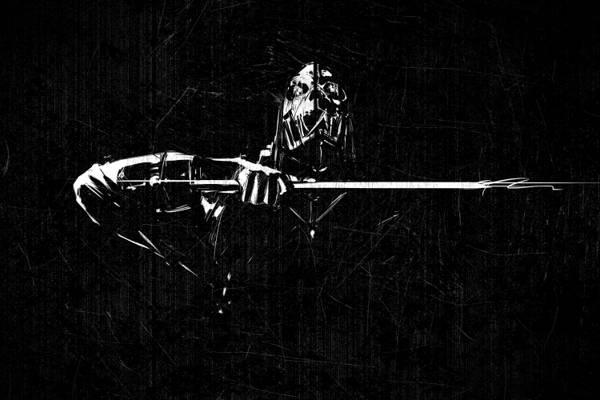 粉丝艺术,老科阿坦,划痕,耻辱,艺术,刺客,刀,杀手