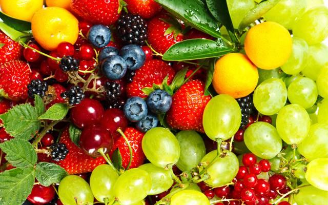 浆果,樱桃,黑醋栗,醋栗,草莓