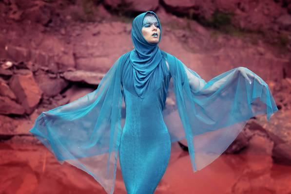 构成,化妆,连衣裙,背景,模型,织物