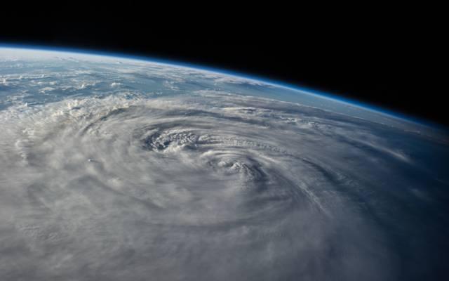 台风下龙湾,地球,行星,空间