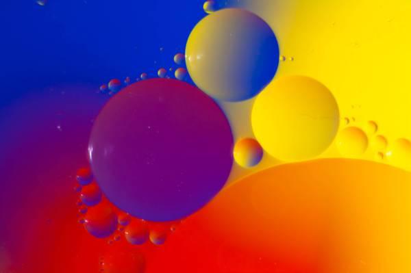 颜色,圆,光,球,气泡