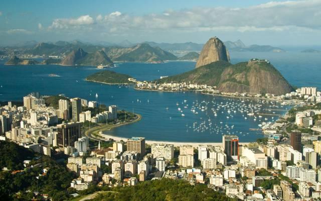 码头,巴西,海湾,城市,里约热内卢