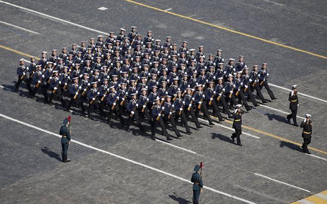 形式,节日,游行,胜利日,水手,3月,红场