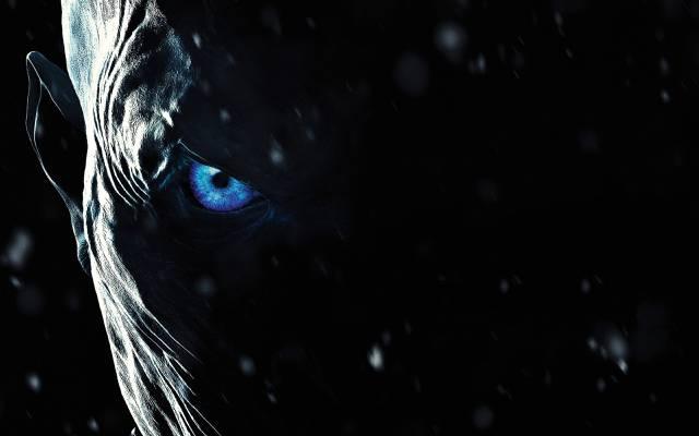 冰,蓝眼睛,邪恶,眼睛,白步行者,脸,权力的游戏,僵尸,一首歌...