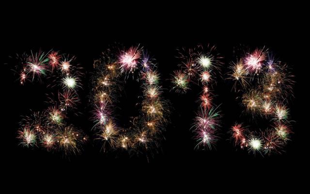 2013年,新年,敬礼