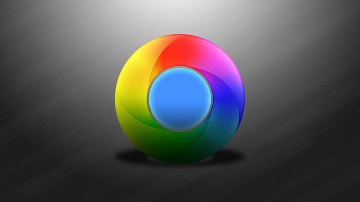 浏览器,徽标,会徽,Google,电脑,Chrome,windows