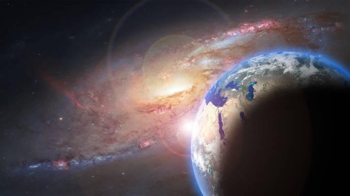 行星地球摄影高清壁纸