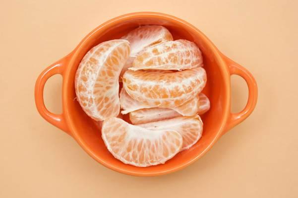 橙色立方,杯,橘子