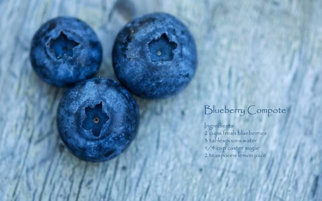浆果,宏,蓝莓,食谱