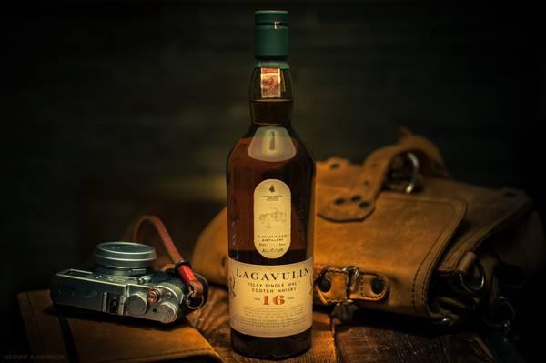 风格,包,威士忌,相机,瓶