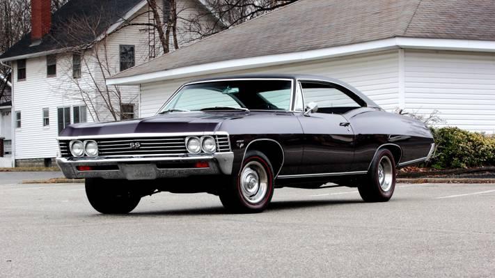 黑斑羚,黑斑羚,轿跑车,硬顶,1967,轿跑车,雪佛兰,雪佛兰,SS 427