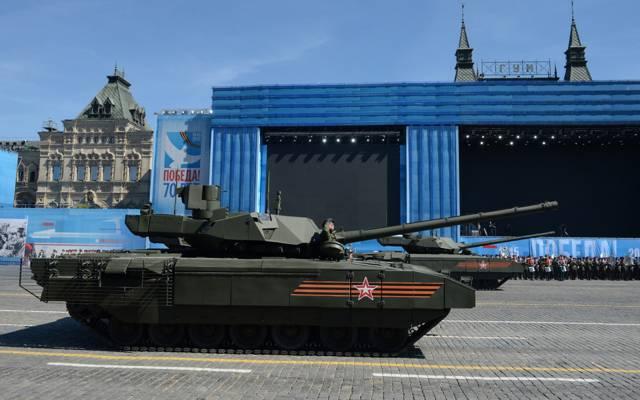 坦克,红色方块,盔甲,T-14,Armata
