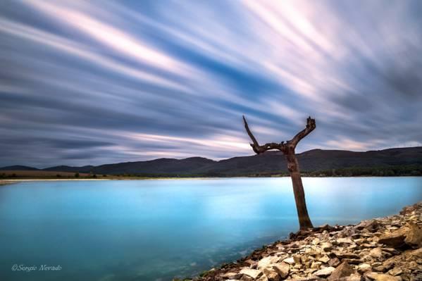 时间推移摄影的冷静身体的水高清壁纸
