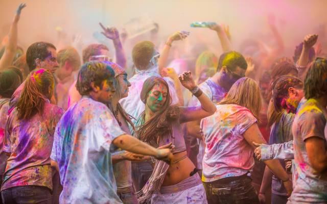 颜色,心情,油漆,假期,游行