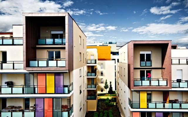 里昂,法国里昂,法国,建筑,家庭,城市