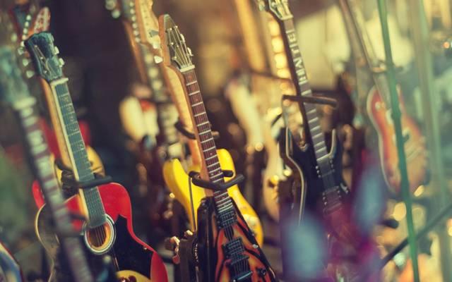 商店,电吉他,音乐