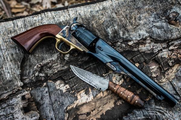 武器,左轮手枪,刀,躯干
