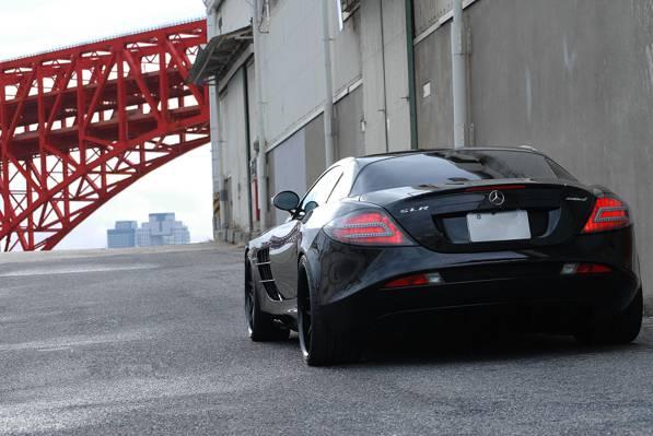 长城,单反迈凯轮,大门,后背,黑色,黑色,奔驰,管,梅赛德斯 - 奔驰,单反迈凯轮
