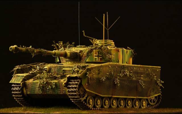 玩具,坦克,模型,德语,平均,Panzer IV
