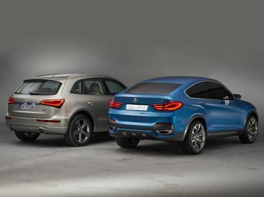 奥迪Q5,品牌,汽车,宝马X4概念,不同