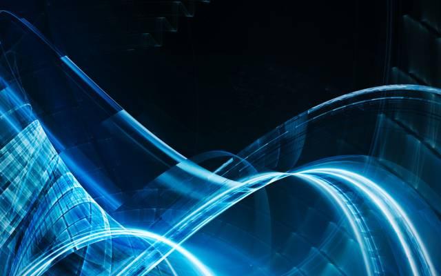 透明度,曲线,线,蓝色,发光