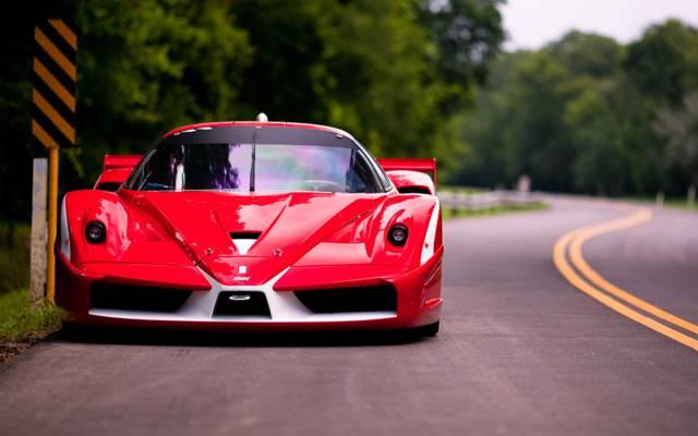 红色,FXX,进化,道路,超级跑车,法拉利,前线,法拉利