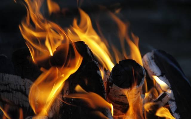 火焰,宏,背景,壁纸,火,煤,火焰,木材,火