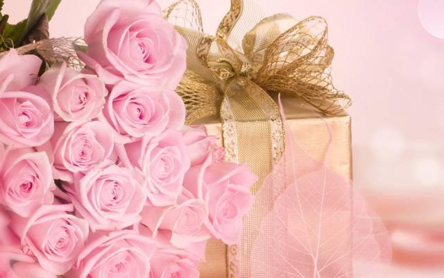 承认,鲜花,假期,礼物,花束,惊喜,浪漫,爱,玫瑰,粉红色