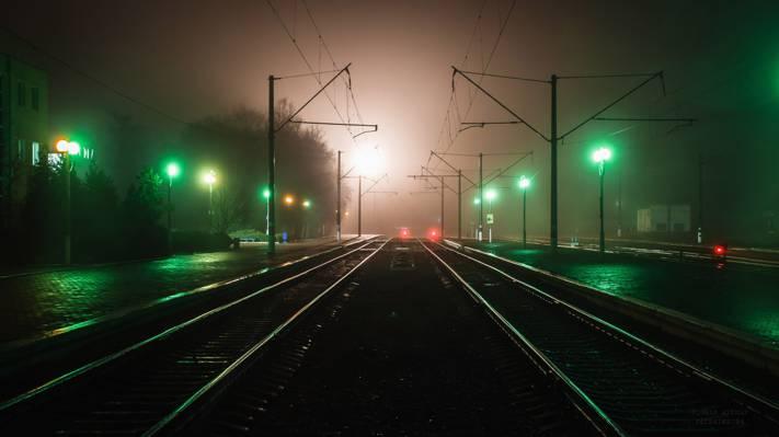 汽车,车灯,灯光,运动,带状灯,家庭,灯光痕迹,城市,节选,模糊,灯光,... ...  -